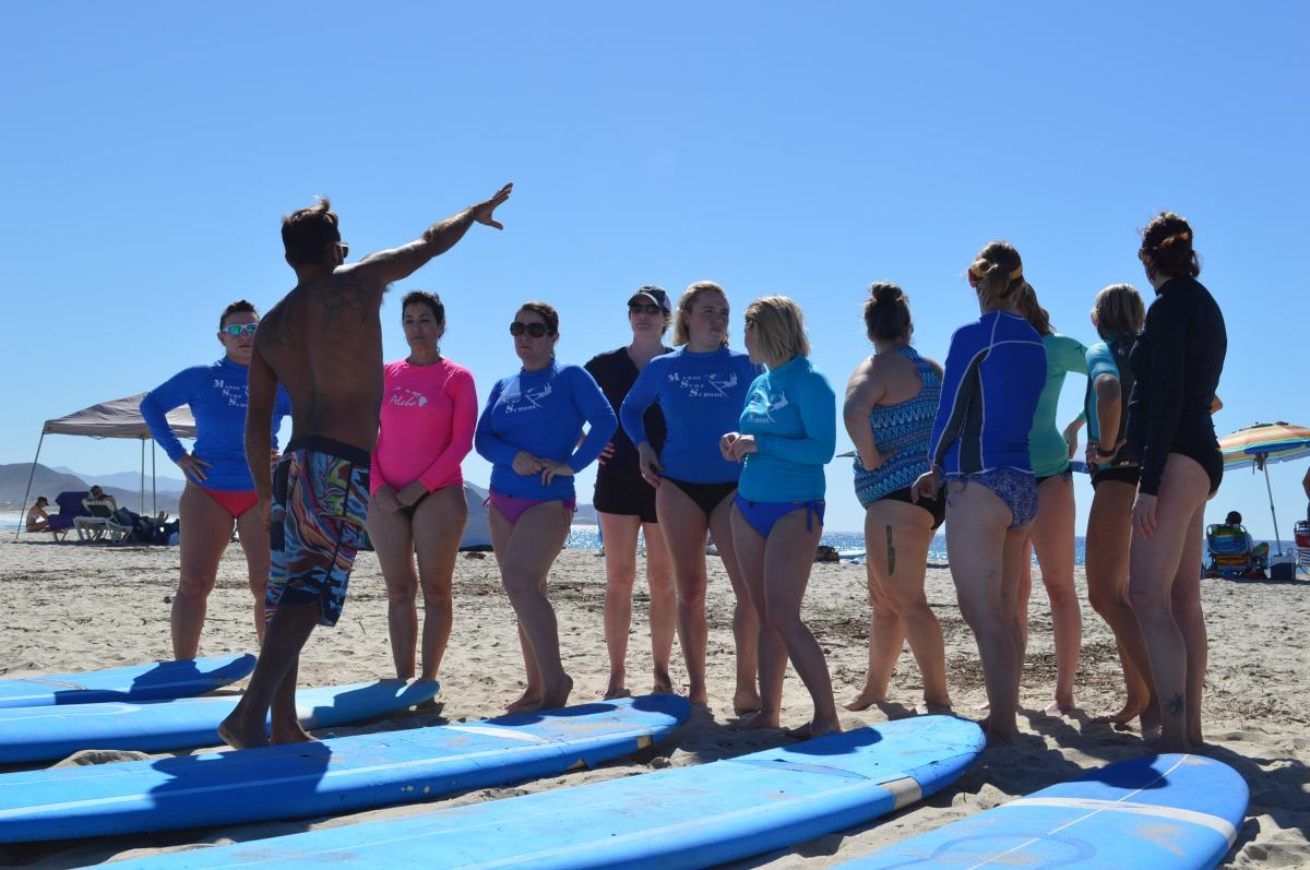 Learning to Surf? Learn to Practice Surfing First.